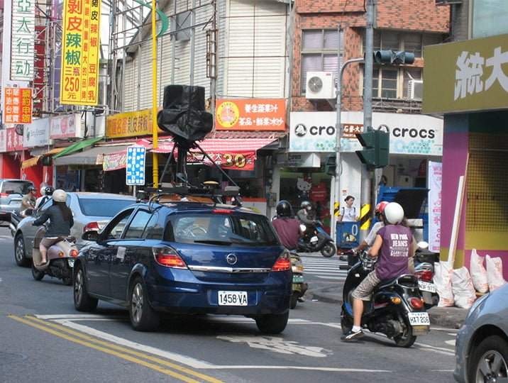 Google街景車 Google Street View Car