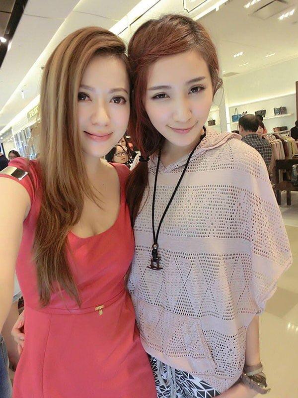 高嘉璐與她的正妹朋友