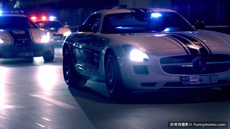 杜拜警車-賓士SLS AMG(Mercedes-Benz)