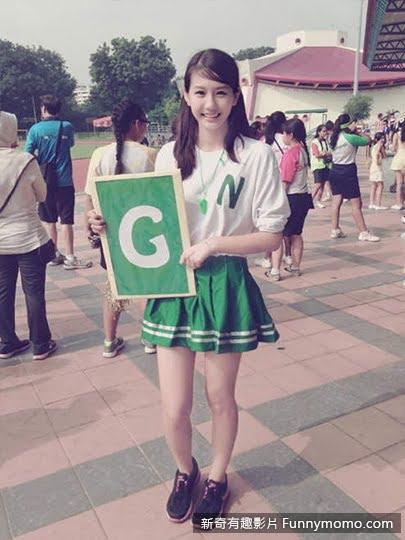 朱主愛(Joyce Chu)也曾是可愛的啦啦隊