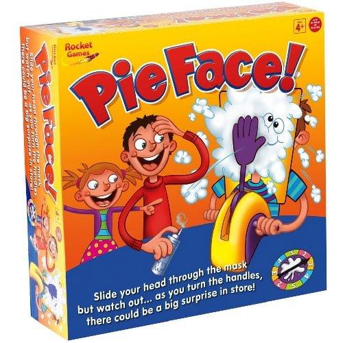 超有趣奶油砸派玩具 Rocket Games Pie Face